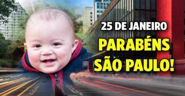 Parabéns São Paulo