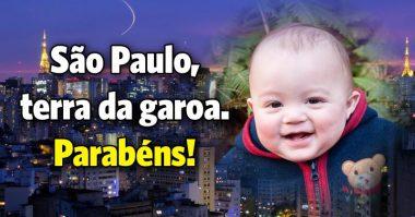 São Paulo, terra da garoa, parabéns
