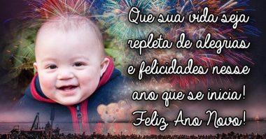 Que sua vida seja repleta de alegrias e felicidades nesse ano que se inicia