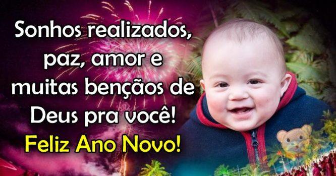 Sonhos realizados, paz, amor e muitas bençãos de Deus pra você