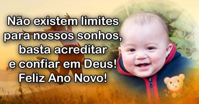 Não existem limites para nossos sonhos, basta acreditar em Deus