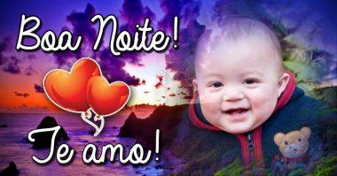 Te amo, boa noite