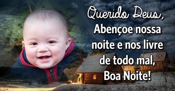 Deus, Abençoe Nossa Noite E Nos Livre De Todo Mal