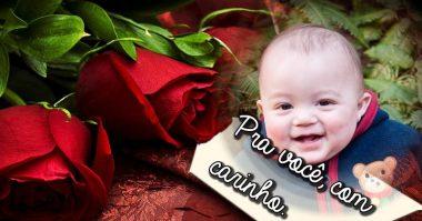 Flores pra você, com carinho