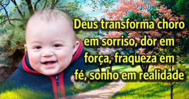 Deus transforma sonho em realidade