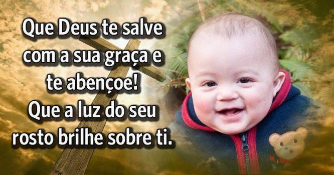 Que Deus te salve com a sua graça