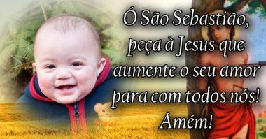 Peça à Jesus que aumente o seu amor para com todos nós
