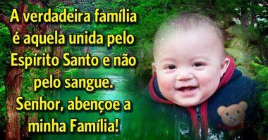 Senhor, abençoe a minha família