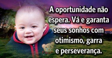 Oportunidade não espera, garanta seus sonhos
