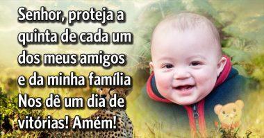 Senhor, proteja eu e meus amigos